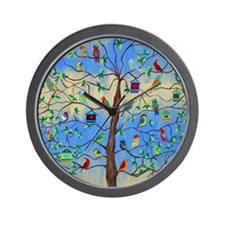 Cute House bird Wall Clock