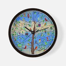 Cute Bird Wall Clock
