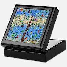 Cute Bird art Keepsake Box