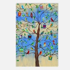 Unique Tree life Postcards (Package of 8)
