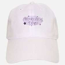 Accounting Diva [purple] Baseball Baseball Cap