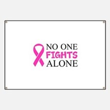 No One Fights Alone Banner