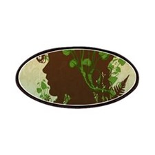 Leaf And Vine Woman Patch