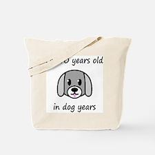10 dog years 2 Tote Bag