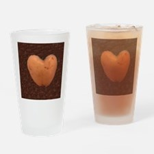 Cute Spud Drinking Glass