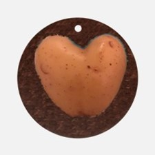 Cute Potato Round Ornament
