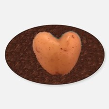 Cute Heart potatoes Decal