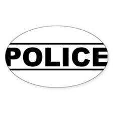 Police Product Design Decal