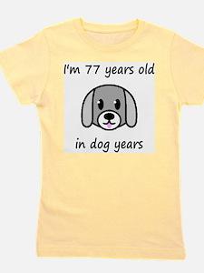 11 dog years 2 Girl's Tee