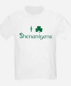 I Love Shenanigans (Green) T-Shirt