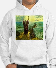 Moses MIracle at the Red Sea Isr Hoodie