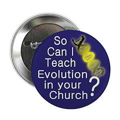 So can I Teach Evolution in Your Church?