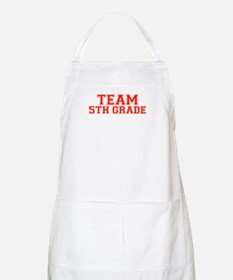 Team 5th Grade BBQ Apron