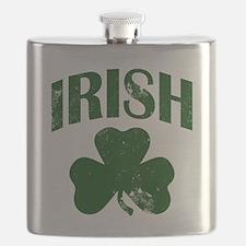 Irish Shamrock (Green) Flask