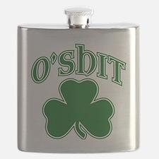 O'Shit Shamrock Flask
