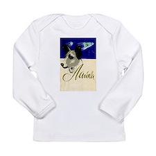 Laika Dog Cosmonaut USSR Space Long Sleeve T-Shirt