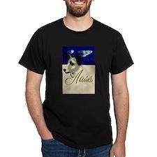 Laika Dog Cosmonaut USSR Space Poster Sovi T-Shirt