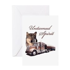 Untamed Spirit Greeting Card