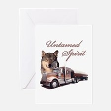 Untamed Spirit Greeting Card