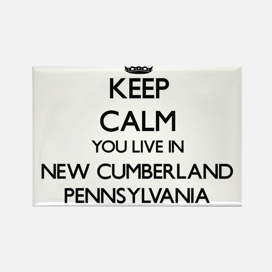Keep calm you live in New Cumberland Penns Magnets