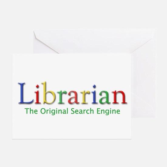 Librarian Greeting Card