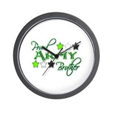 Army Star Brother Wall Clock