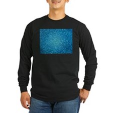 Pale blue/aqua color stained g Long Sleeve T-Shirt