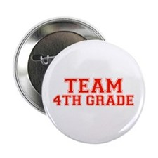 "Team 4th Grade 2.25"" Button (10 pack)"