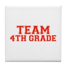 Team 4th Grade Tile Coaster