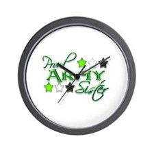 Army Star Sister Wall Clock