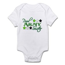 Army Star Sister Infant Bodysuit