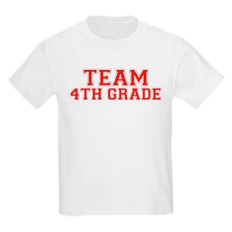 Team 4th Grade Kids Light T-Shirt