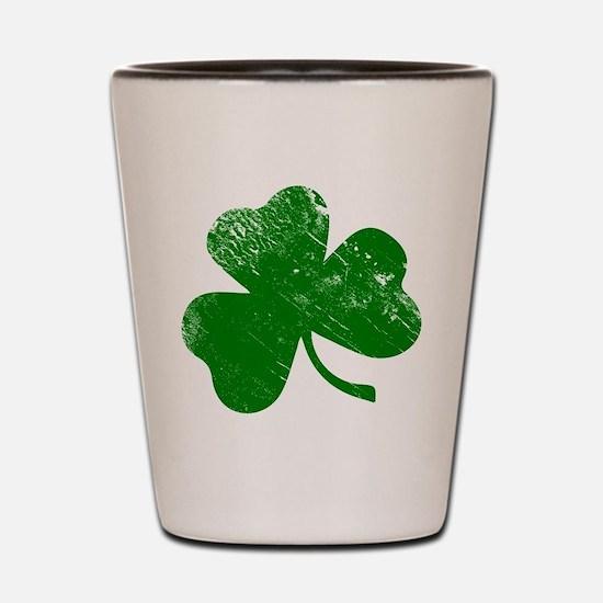 Shamrock (Green) Shot Glass