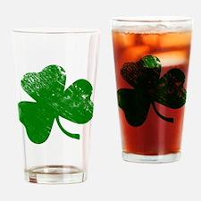 Shamrock (Green) Drinking Glass