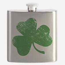 Shamrock (Green) Flask