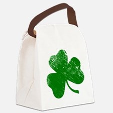 Shamrock (Green) Canvas Lunch Bag