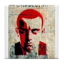 Vladimir Mayakovsky Russian Soviet fu Tile Coaster
