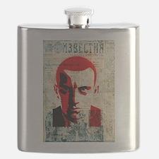 Vladimir Mayakovsky Russian Soviet futurist Flask