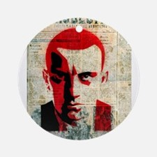 Vladimir Mayakovsky Russian Sovie Ornament (Round)