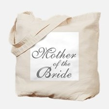 Mother of the Bride Gray Text Tote Bag