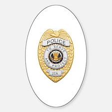 Police Badge Bumper Stickers