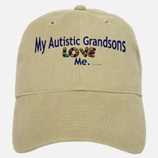 My Autistic Grandsons Love Me Baseball Baseball Cap
