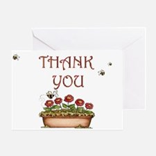 Bees Thank You Greeting Card