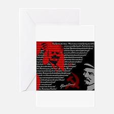 Lenin Greeting Cards