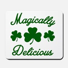 Magically Delicious Shamrock Mousepad