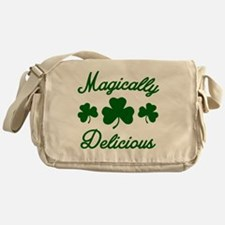 Magically Delicious Shamrock Messenger Bag
