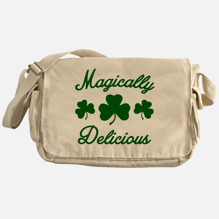 Magically Delicious Shamrock Messenger Bag