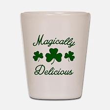 Magically Delicious Shamrock Shot Glass