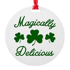 Magically Delicious Shamrock Ornament
