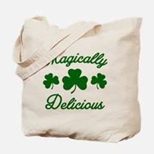 Magically Delicious Shamrock Tote Bag